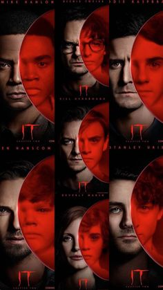 It Movie Cast, It Cast, Es Pennywise, Scary Wallpaper, Stephen King, Im A Loser, Eleven Stranger Things, Horror Films, Scary Movies