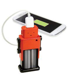 Robot Emergency USB Power Bank