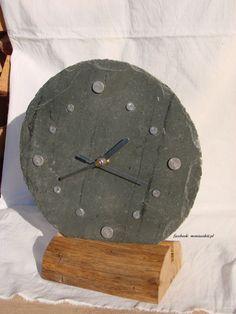 Clocks For Sale, Wooden Clock, Katana, Slate, Watches, Facebook, Projects, Home Decor, Home Decor Ideas