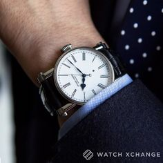 """""""The watch of an Englishman"""" // The 11th made steel enamel-dialled 38mm Speake-Marin #Resilience The Piccadilly // Available at http://ift.tt/1qIwSwQ"""