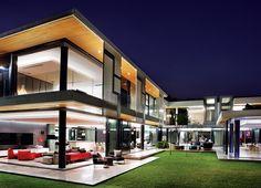 CASA Residência Houghton MZ  assinatura do escritório sul-africano Stefan Antoni Olmesdahl Truen Architects, conhecido como SAOTA.