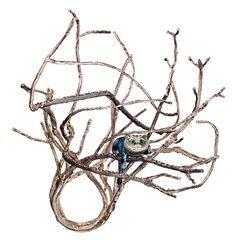 Woodland Ring inspired by Alice in Wonderland; contemporary jewellery design // Julija Neje