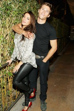 Pin for Later: Will These Summer Flings Make It to Autumn? Scott Eastwood and Brittany Brousseau