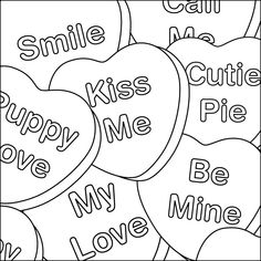 66 Best Valentine\'s Day Colouring images in 2019 | Coloring pages ...