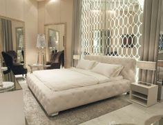 Nella Vetrina bed and accessories. Available at the D&D Building suite 814 #ddbny #nellavetrina