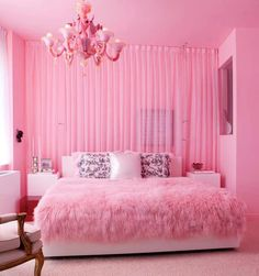 10 Cool Ideas For Girls Pink Bedrooms ~ GoZiyan The General Blog