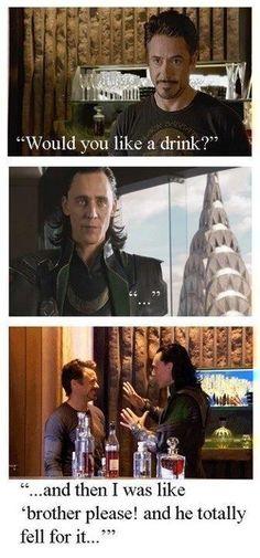Loki and Ironman;)