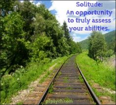 Solitude | Park Ridge Psychological Services