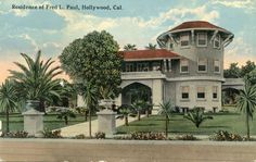 Old Movie Star Homes Hollywood Stars Of
