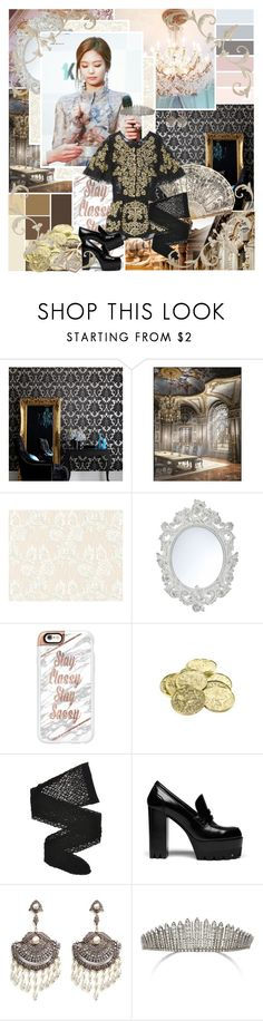 """To love and adore you it's all that I am"" by aliicia21 ❤ liked on Polyvore featuring Graham & Brown, BD Fine Wallcoverings, John Lewis, Guide London, Casetify, Wolford, Mulberry and Amrapali"