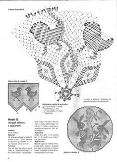Crochet Angel Pattern, Holiday Crochet Patterns, Free Crochet Doily Patterns, Filet Crochet Charts, Lace Patterns, Crochet Doilies, Crochet Lace, Crochet Birds, Thread Crochet