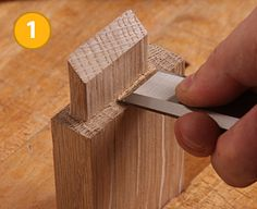 Easy Tip for Tighter Mortise-and-Tenon Joints - Fine Woodworking