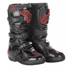 Alpinestar Tech 6 Dirt Bike Boots.  See how to work in new boots before you go riding.
