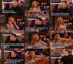 The One Where Monica and Richard are Friends... hahahaha!