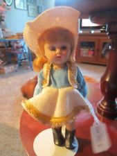 vintage Vogue Ginny Play Time Cowgirl 1956 SLW #6056 molded lash
