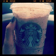 Captain crunch frap @ Starbucks