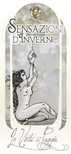 Sensazioni d'Inverno - Malvasia dei Colli Piacentini #vino #naming #packaging #design