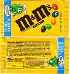 1997 M&M Candy Wrapper