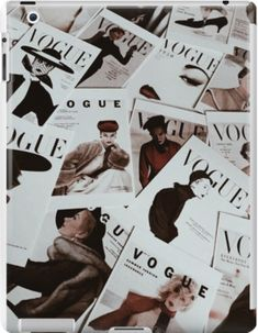 Vogue Magazine Aesthetic Ipad Snap Case by hlsbrand