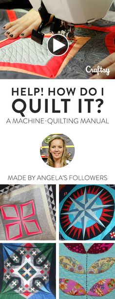 Follow along with quilter Angela Walters and learn how to pair complementary quilting with six styles of pieced tops for your most beautiful results yet!