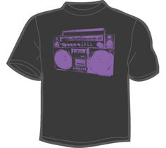 NoiseBot.com Funny T-Shirts - Vintage Boombox T-Shirt, Hoodie, or Tote Bag