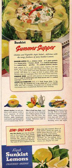Summer Supper #jello
