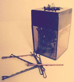 Une boite à trombones magnétique pour vos épingles à cheveux
