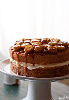 A Cozinha Coletiva: Bananas Foster Cake
