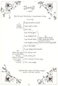 the classic handwritten cookbook (Moosewood)