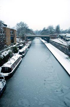 Regents canal in London