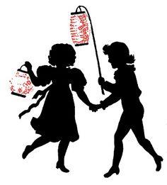 Children with Paper Lanterns!