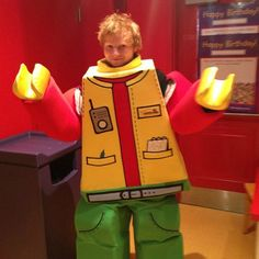 Sheeran costume ed halloween