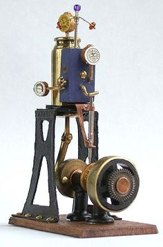 Steam Engine by Matthew Amt