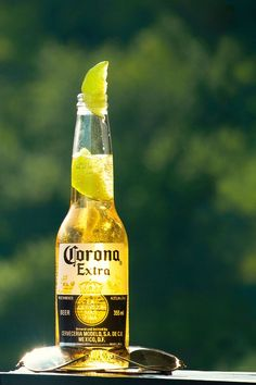 Corona is a pale beer from Mexico. It is one of the best selling beers in the world, available in over 150 countries. Many serve it with a lime or lemon wedge.