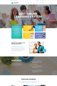 ECoursify - LMS for Online Courses WordPress Theme Big Screenshot