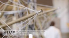 Hive: A Human and Robot Collaborative Building Process on Vimeo