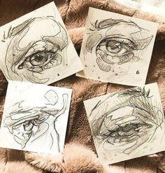 drawings and cool art - kate zambrano eye photo eye eye brows eye reflections eye makeup eye cream Art Drawings Sketches, Cool Drawings, Drawings Of Eyes, Drawings Of People, Cool Sketches, Photo Oeil, Arte Sketchbook, Sketchbook Pages, Sketchbook Ideas