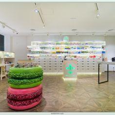 Design showcase: Oui Pharmacy, Madrid - Retail Design World