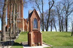 Gietrzwałd Warmiński Sanktuarium Matki Bożej Gietrzwałdzkiej