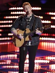"Mike Schiavo of Colonia competed on Team Adam on ""The Voice."" (Photo: ~Courtesy of Tyler Golden/NBC)"