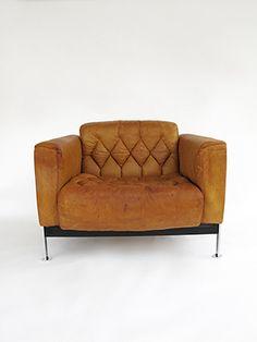 Haussmann Robert and Trix 1954 Easychair RH 301 Vintage Furniture, Furniture Design, Sofa, Couch, Contemporary Design, Love Seat, Interior Decorating, Modern, Amber