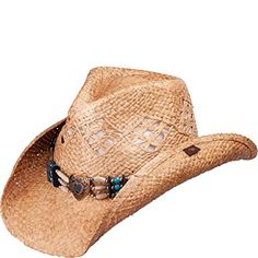 9e7de5681e2d6 Peter Grimm Hopi 3 Band Western Straw Hat with Heart Center Concho PGD4034  Review Men s Hats