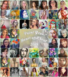 Paint Your Heart and Soul 2018 is a year-long collaborative art course to give you the techniques and inspirations to make soulful story art. More info at Create Your Story, Online Art Classes, Workshop, Art Courses, Painting Courses, Art Journal Techniques, Collaborative Art, International Artist, Community Art