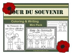 Observe Remembrance Day in your Spanish immersion/dual language immersion program with this mini pack of 4 coloring sheets and 2 writing papers. French Teaching Resources, Teaching French, Teaching Spanish, Teaching Ideas, Spanish Class, Dual Language Classroom, Learning A Second Language, Fun Learning, Veteran Jobs