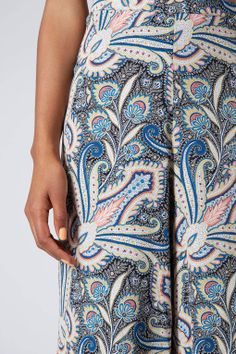 Wide Leg Paisley Trousers - New In This Week - New In - Topshop