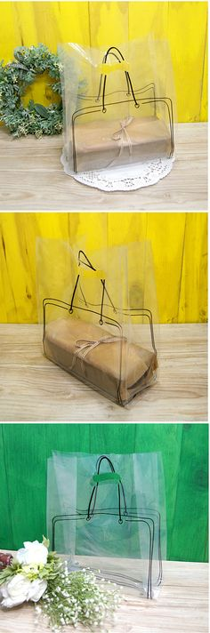 Clever transparent bag design PD