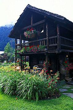 France, Alps, Haute-Savoie, Chamonix, 100th Anniversary Of Hameau Albert 1er…