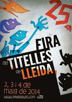 25a Fira de Titelles de Lleida (maig 2014)