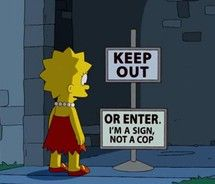 """The Simpsons is still pretty cromulent. View Later Season Simpsons Jokes That Will Make You Laugh"""" and more funny posts on CollegeHumor Funny Valentine, Simpsons Simpsons, Simpsons Quotes, Simpsons Episodes, Funny Quotes, Funny Memes, Sloth Memes, Meme Gifs, Funny Blogs"""