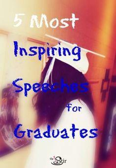 1000+ ideas about Graduation Speech on Pinterest | Graduation Quotes ...